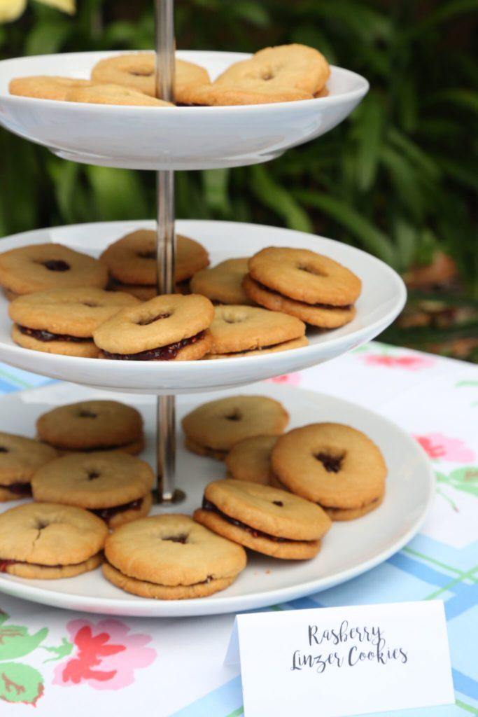 Gluten Free Tea Sandwiches recipe featured by top LA lifestyle blog, Pretty Little Shopper: Gluten Free Linzer Tarts