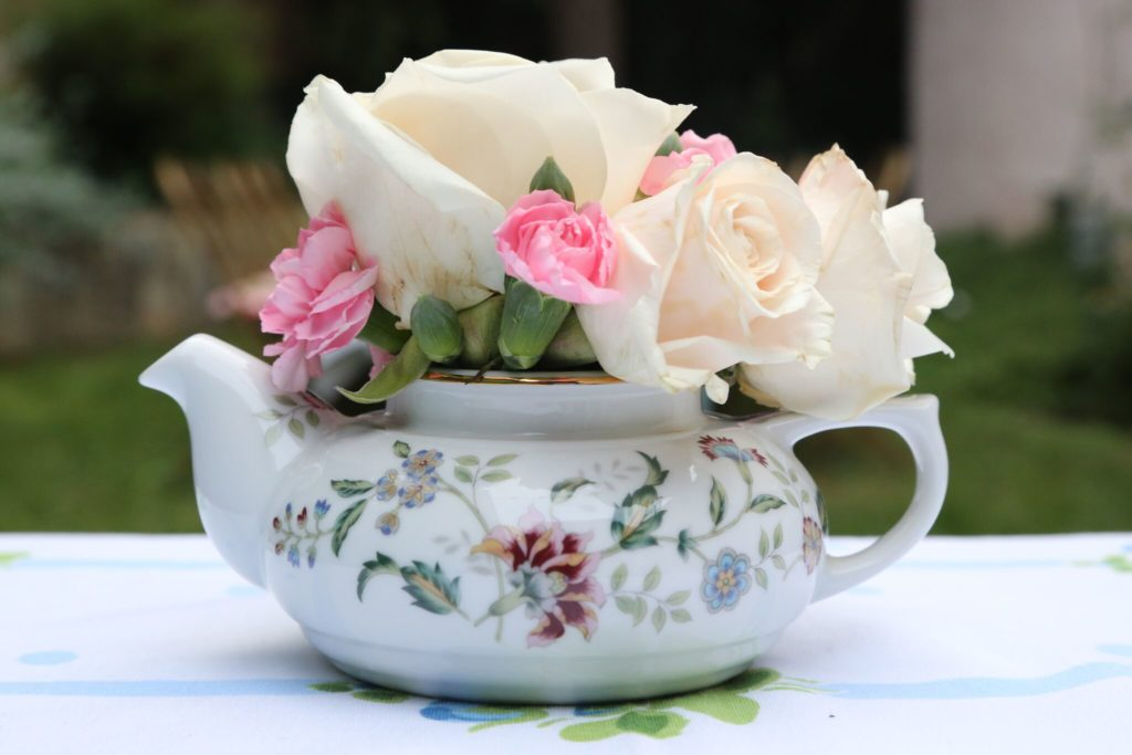 Gluten Free Tea Sandwiches recipe featured by top LA lifestyle blog, Pretty Little Shopper: Afternoon High Tea Party Floral Arrangement