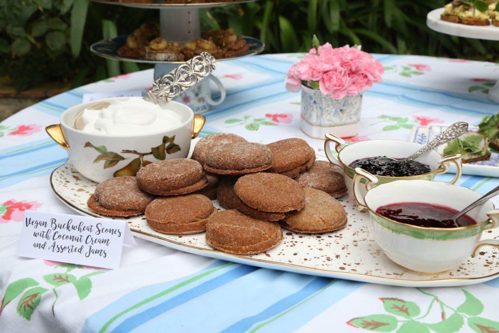 Gluten Free Tea Sandwiches recipe featured by top LA lifestyle blog, Pretty Little Shopper: Gluten and Dairy Free Vegan Scones