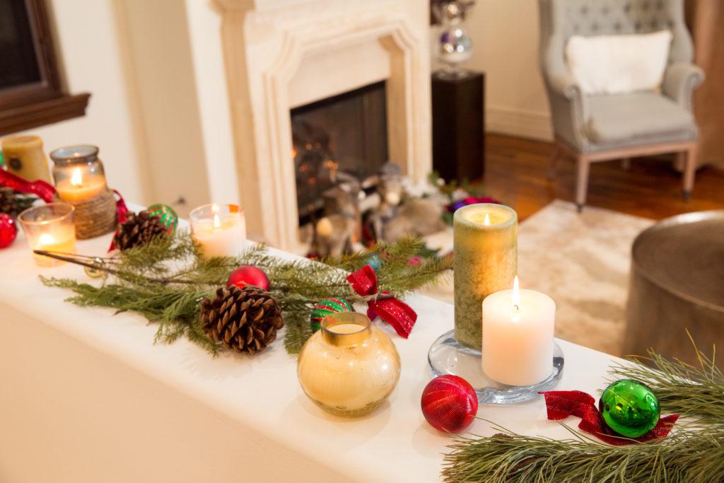 Christmas Candlescape - Pretty Little Shoppers Blog