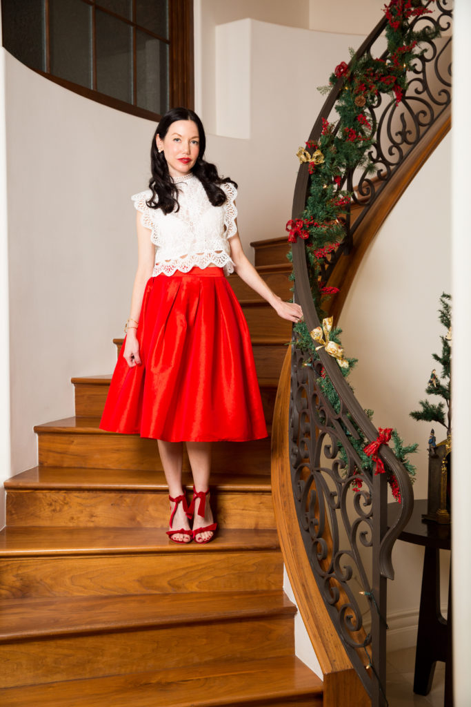 Chicwish Top and Skirt - Pretty Little Shoppers Blog