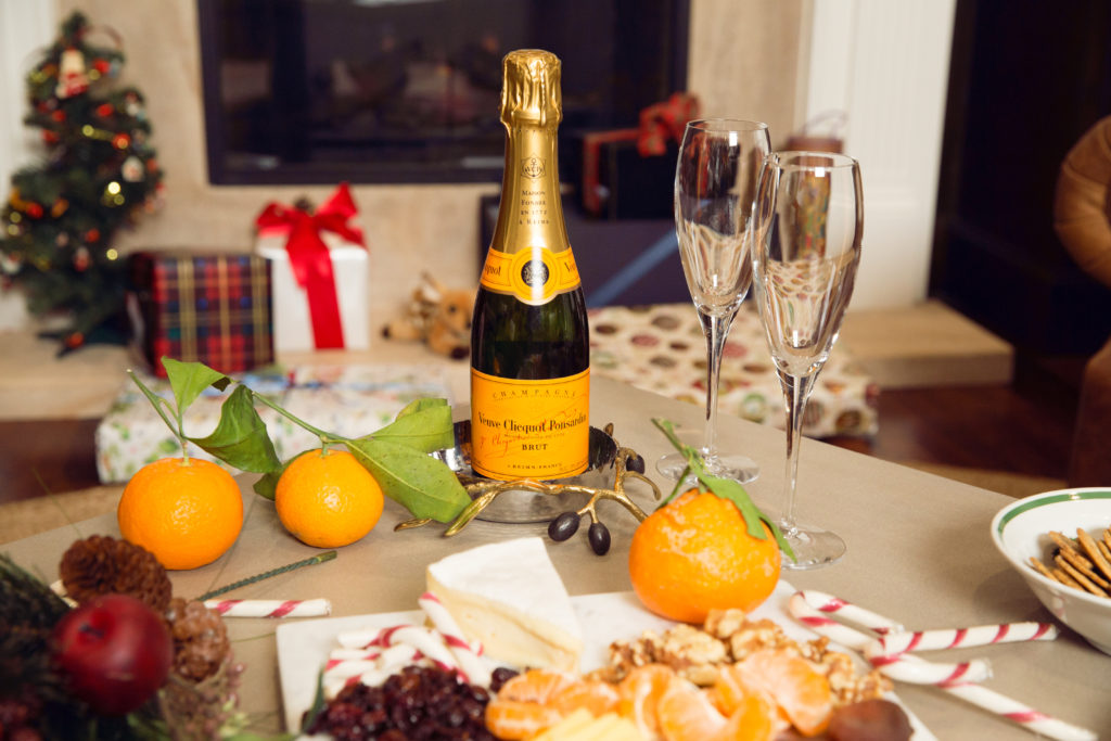 Celebrating Christmas with Veuve Clicquot - Pretty Little Shoppers Blog