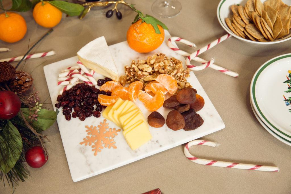 Williams Sonoma Christmas Cheese Board - Pretty Little Shoppers Blog