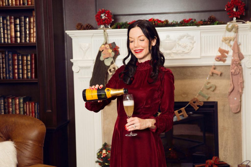 Christmas Celebration with Veuve Clicquot - Pretty Little Shoppers Blog