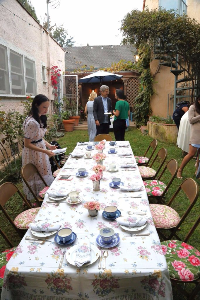 Setting the Table for Afternoon High Tea - Pretty Little Shoppers Blog