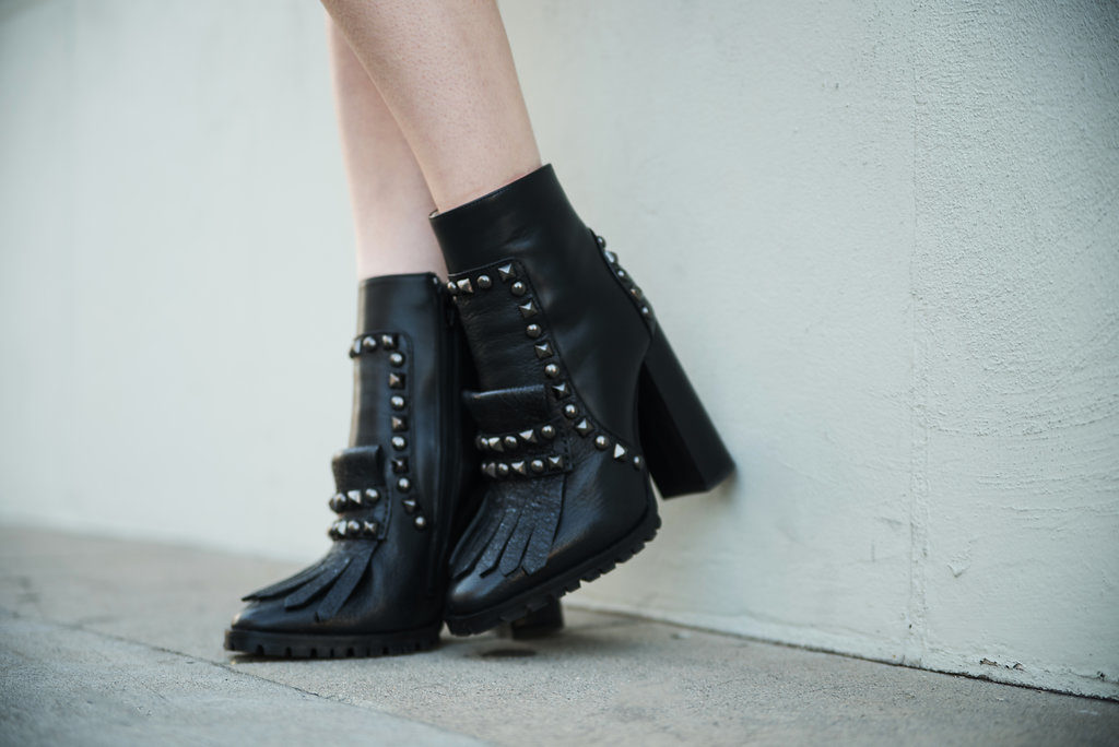 Tommy Hilfiger Collection Studded Heel Boot