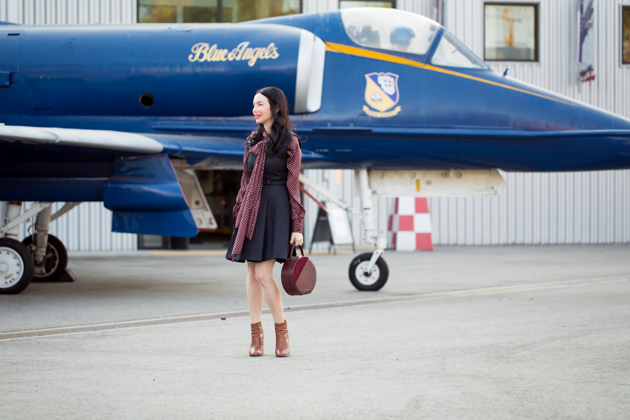 Lisa Valerie Morgan wears Zara Pussy Bow Blouse