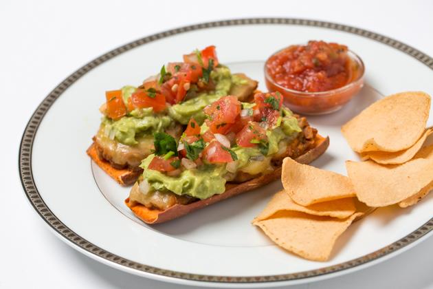 Sweet Potato Toast-ada, Healthy Mexican Food Recipe