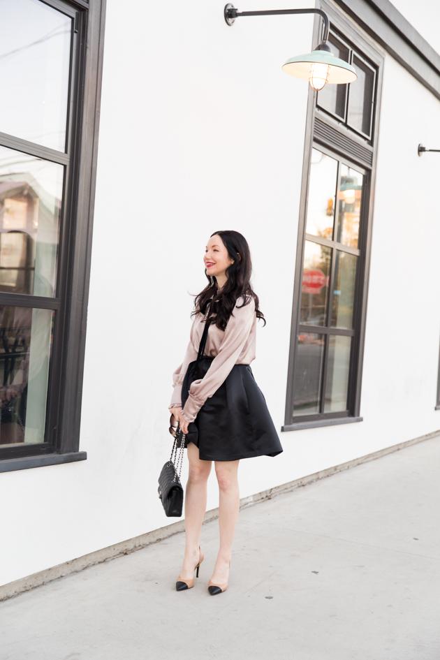 Dinner Date Night Look - Pretty Little Shoppers Blog