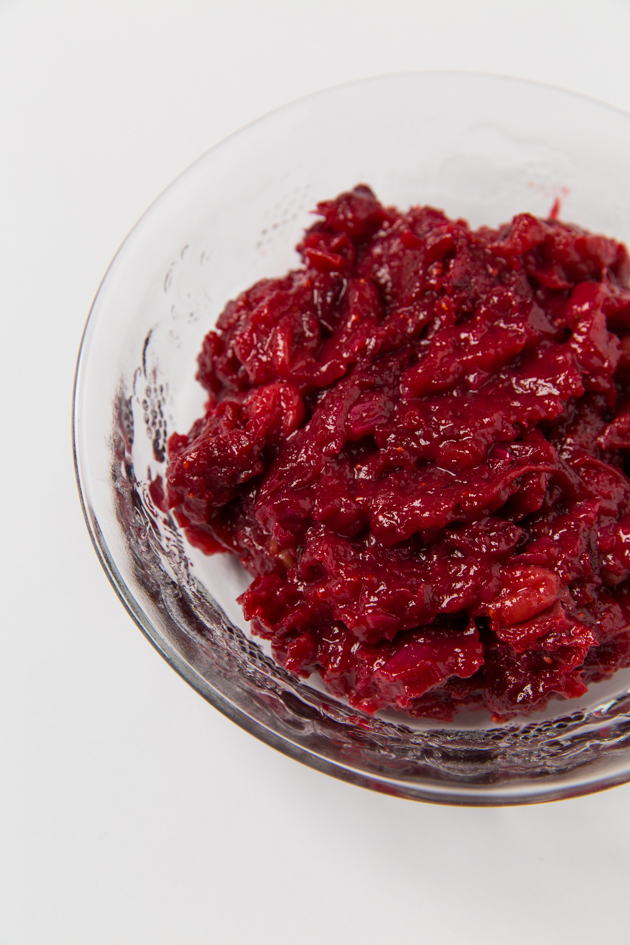 Cranberry Chutney, Organic Recipe, Honey Sweetened