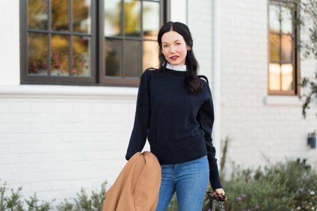 Lisa Valerie Morgan wears Sandro Paris