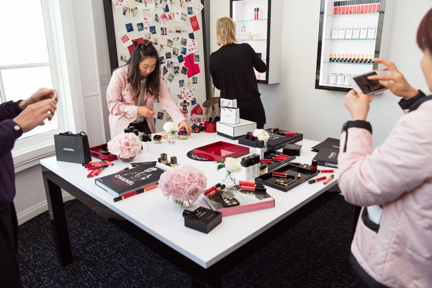 "Chanel Beauty House ""Create with Colour"" Room"
