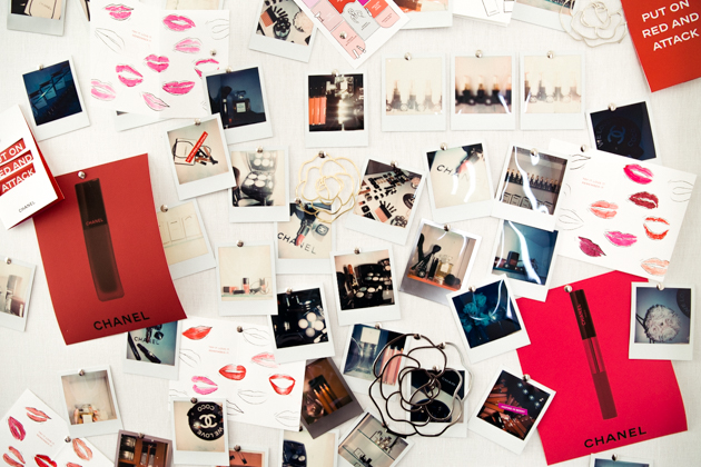 Chanel Beauty House Mood Board