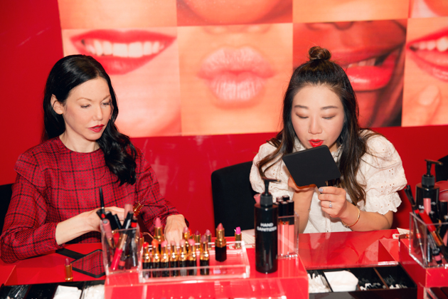Lisa Valerie Morgan and Sheree Ho at Chanel Beauty House