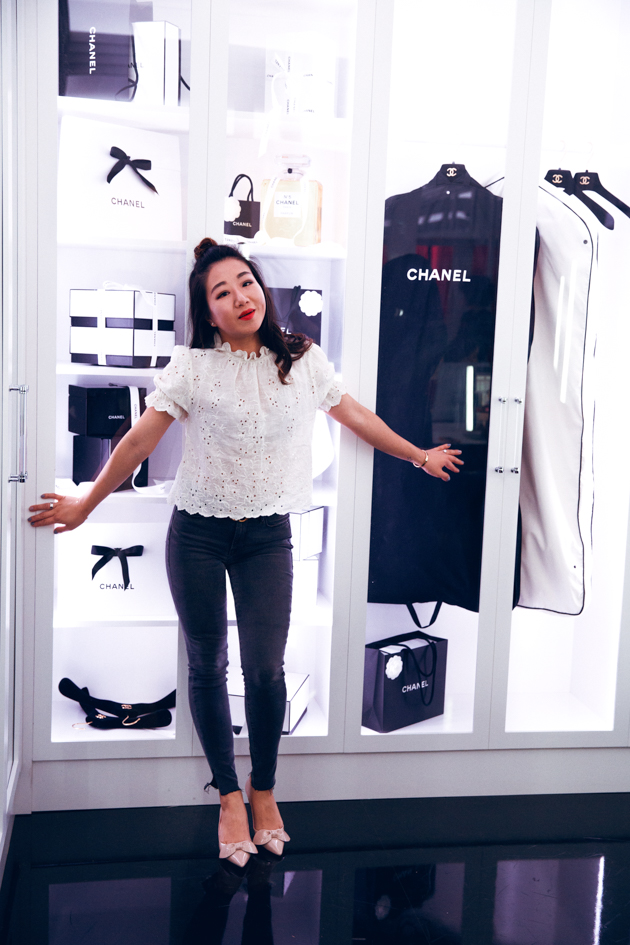 Sheree Ho at Chanel Beauty House