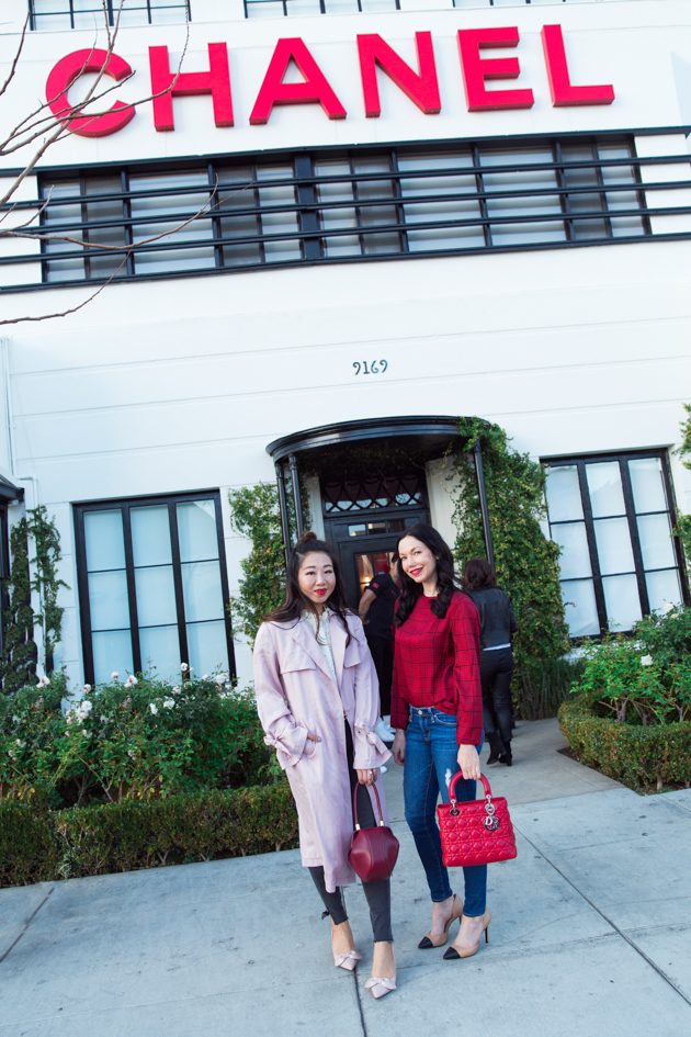 Sheree Ho and Lisa Valerie Morgan visit the Chanel Beauty House