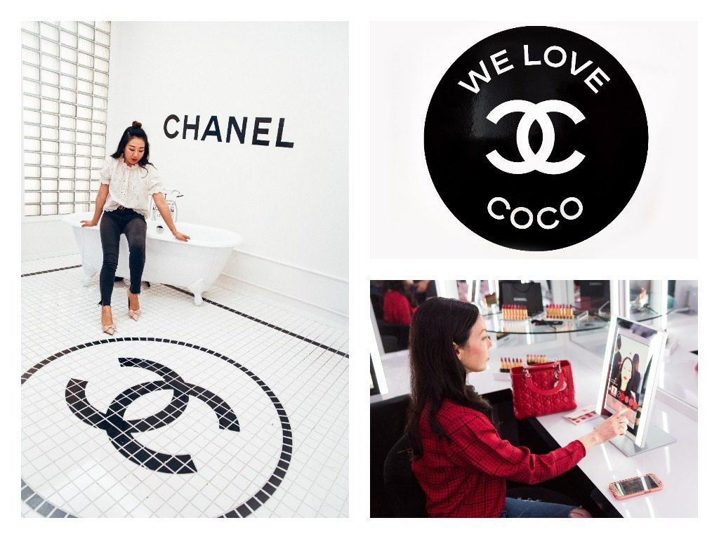 Sheree Ho and Lisa Valerie Morgan at the Chanel Beauty House