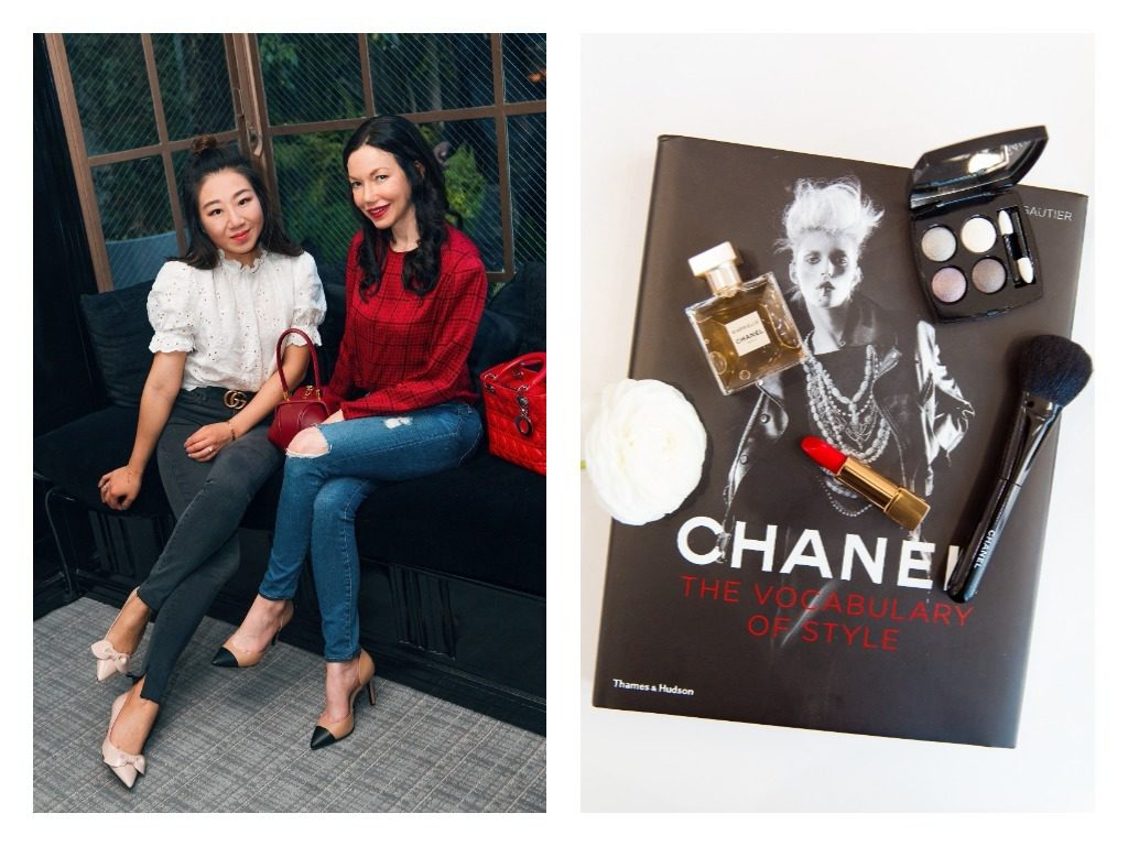 Posh Classy Mom and Pretty Little Shoppers Blog visit the Chanel Beauty House