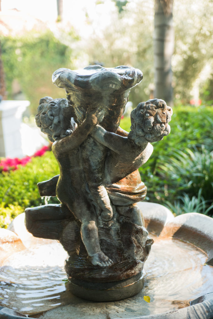 Old Hollywood Fountain by Amina Touray Photography