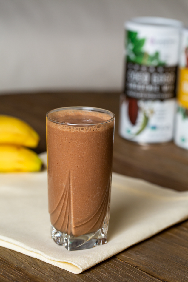 Essential Living Foods Chocolate Banana Adaptogen Smoothie