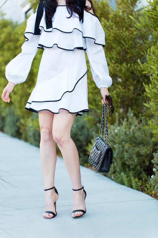 Petersyn Ruffled Dress, Revolve Clothing