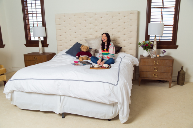 A Royal Night's Sleep with Crown Goose Bedding, Home Interiors, Home Decor