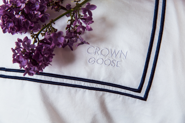 Crown Goose Bedding, Hotel Quality Duvet Cover