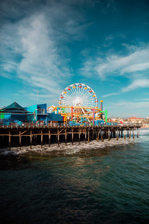 Visiting the Santa Monica Pier, Mo Summers Photography, Things to do in LA, Summer Adventures, Beach Town Life, Pretty Little Shoppers Blog #santamonicapier #thingstodoinla #beachtownlife #summervacation