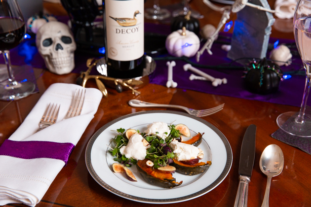 Halloween Dinner Party Menu.Halloween Dinner Party With Decoy Pretty Little Shoppers