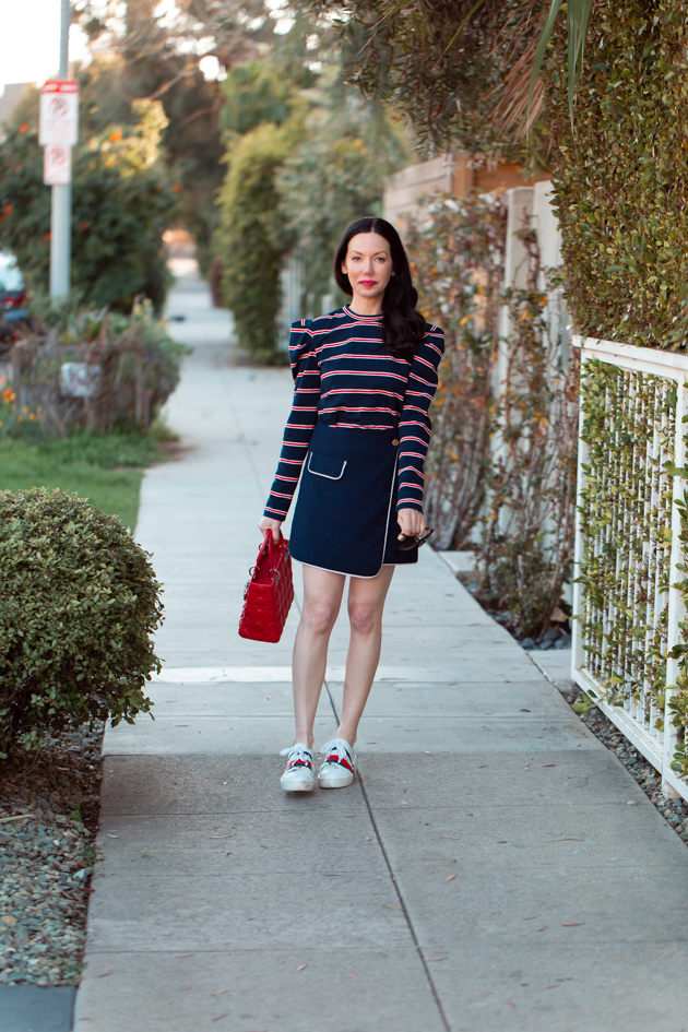 Fourth of July Look, All Striped Up, Striped top, The Fifth Label, Tommy Hilfiger, Red White and Blue Style, OOTD, Red Bag, Who What Wearing, Summer Style, Fashion Trends, What to wear for Fourth of July, Fashion Blogger Style, OOTD Inspo, street style stalking, outfit ideas, How to Style A Striped Top, Fashion Bloggers, Outfit Inspiration, Trends, Outfits, Pretty Little Shoppers, Mo Summers Photography #stripedtop #fourthofjuly #fashionbloggerstyle #Summerstyle #whowhatwearing #lafashionblogger