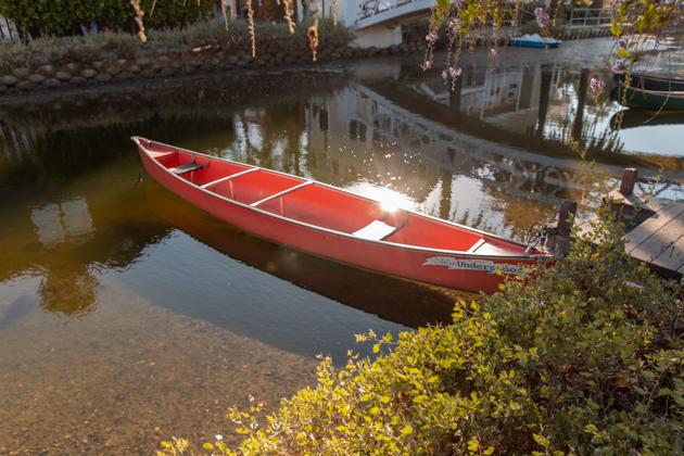 Canoe, Venice Beach Canals
