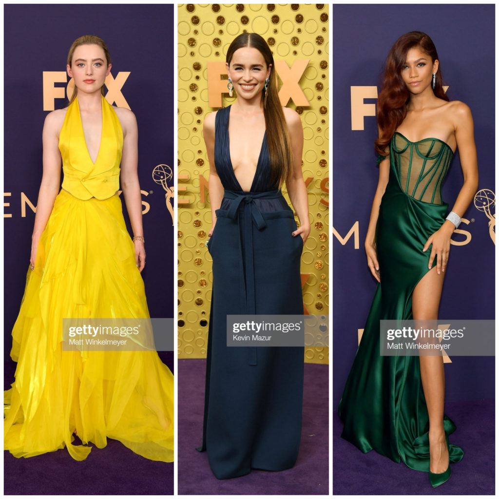 2019 Emmy Awards Red Carpet, Emmy Awards Red Carpet 2019, Red Carpet Style, Celebrity Style, Celebrity Stylist, Phoebe Kathryn Newton, Emilia Clarke, Zendaya, Evening Gown Style, Ralph Lauren, Red Carpet Roundup, Valentino, Vera Wang, #Emmys2019 #2019Emmys #AcademyAwards #redcarpetstyle #2019Emmyawards #celebritystyle #influencerstyle #redcarpet #eveninggown #moviestars #tvstars #ralphlauren #valentino #verawang #zendaya #emiliaclarke #kathrynnewton