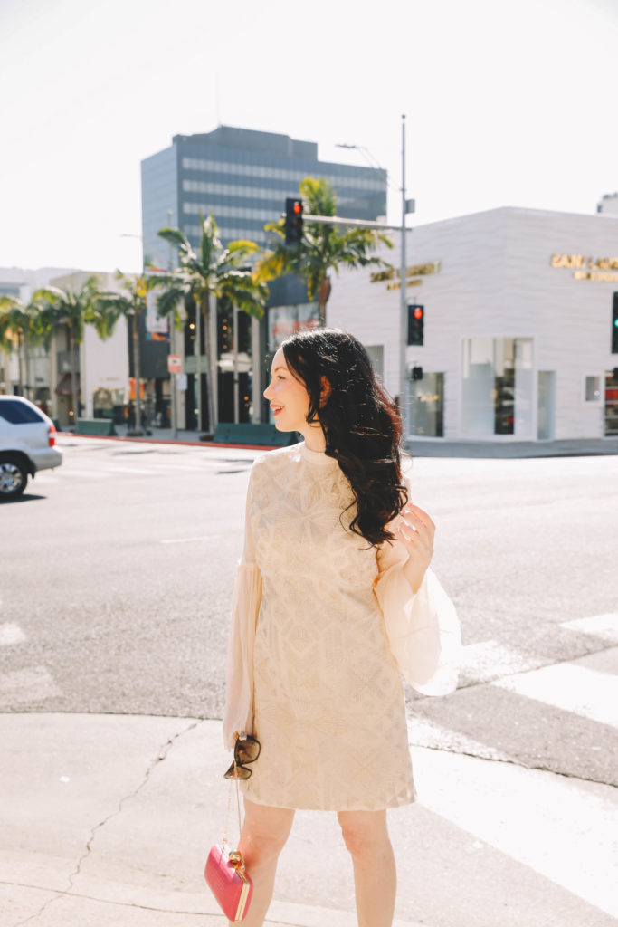 Lisa Valerie Morgan wears Free People Cleo Dress