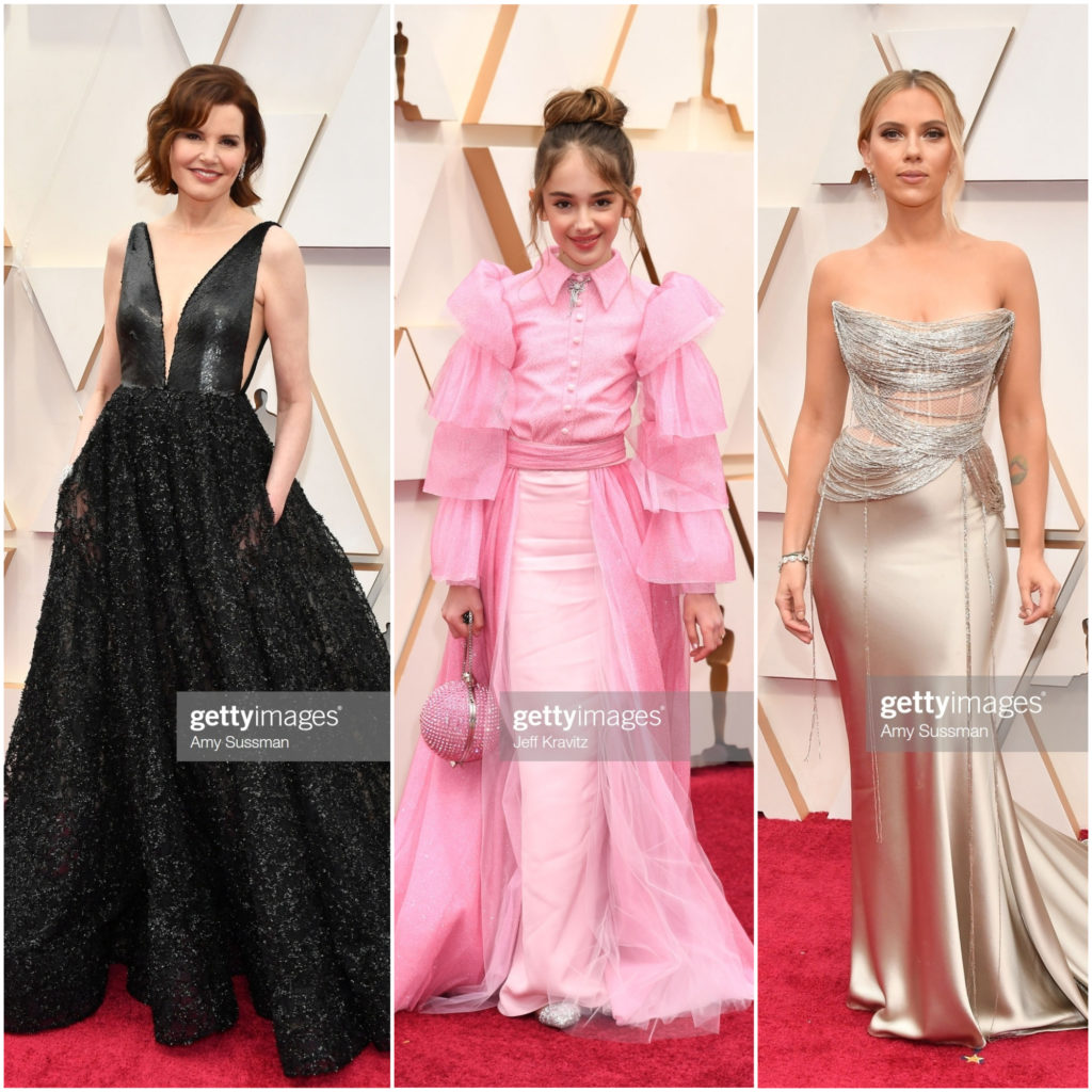 2020 Oscars Red Carpet, Academy Awards 2020, Red Carpet Style, Celebrity Style, Celebrity Stylist, Geena Davis, Julia Butters, Scarlett Johansson, Evening Gown Style, Red Carpet Roundup, Christian Siriano, Romona Keveza, Oscar de la Renta #Oscars2020 #2020Oscars #AcademyAwards #redcarpetstyle #2020Academyawards #celebritystyle #influencerstyle #redcarpet #eveninggown #moviestars