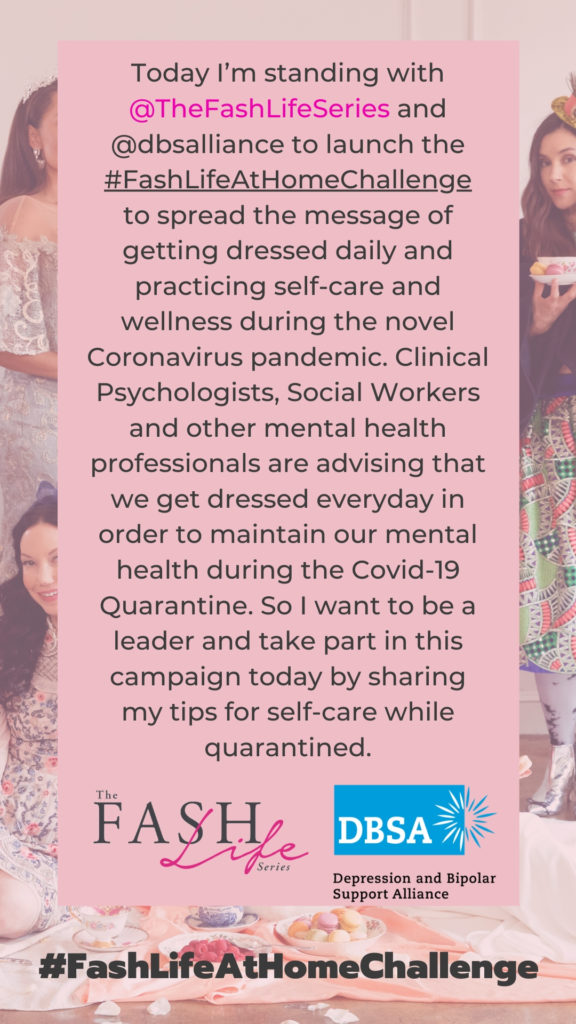Fash Life At Home Challenge, Mental Health Awareness Month, Quarantine Life, CoronaVirus, Covid 19, Mental Health, End the Stigma, Mental Health Matters, Anxiety Awareness, Mental Health Advocacy, Make A Difference, Spread Positivity, Take A Stand, Share Your Voice, Awareness Campaign, The Fash Life Series #FashLifeAtHomeChallenge | Mental Health Awareness Month by popular LA lifestyle blog, Pretty Little Shoppers: digital image of #fashlifeathomechallenge.
