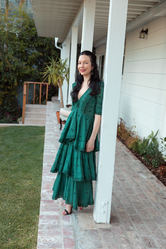 Back to the Blog! New Home, Moving In, Sneak Peek of my new house, Nuuly Dress, Home Decor, What to wear in the Summer, Dressing up at home, Beautiful by Mark D. Sikes, Back Porch, Moving in the time of Covid, Moving during quarantine, Pretty Little Shoppers Blog, How to Style A Maxi Dress  #myNuuly #MovingIn #HomeDecor #QuarantineLife