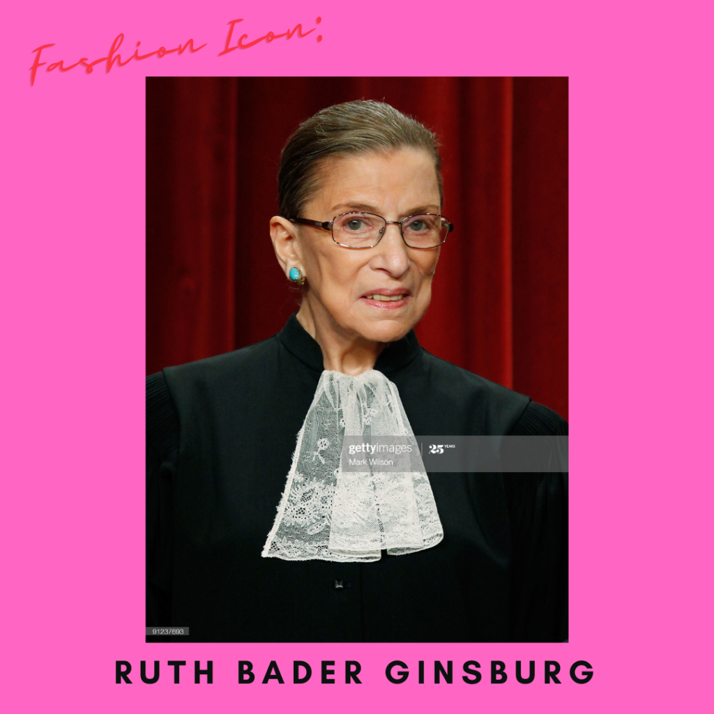 Fashion Icon: Ruth Bader Ginsburg
