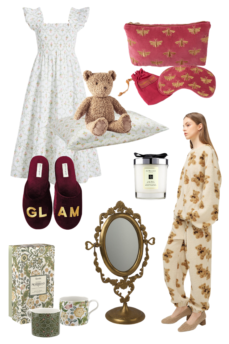 Valentine's Day Gift Ideas from Hill House Home, Amara, Patricia Green, Anthropologie, Jo Malone and Storets
