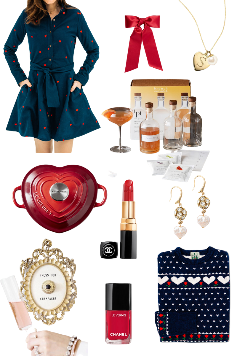 Valentine's Day Gift Ideas from Kiel James Patrick, Williams Sonoma, Chanel and Hill House Home