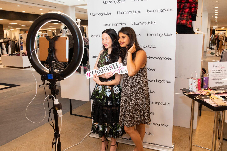 Lisa Valerie Morgan and Julia Tara Springer at The Fash Life Series x Bloomingdale's Sneak Peek Party