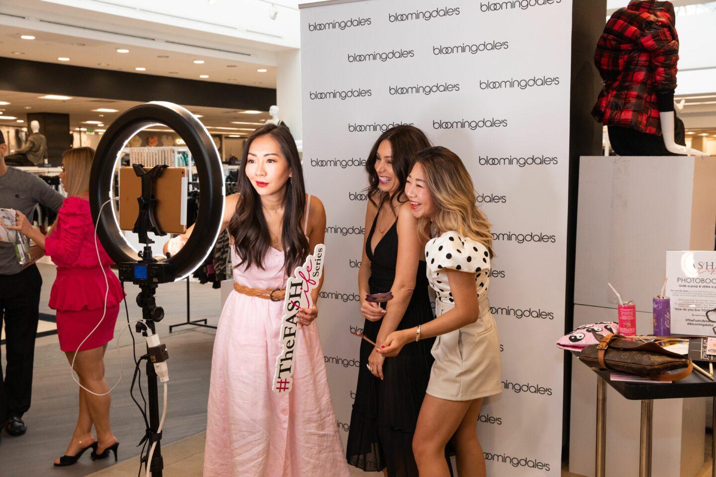 Linda Kang, Miriam Ghafarinia and Sheree Ho at The Fash Life Series x Bloomingdale's Sneak Peek Party