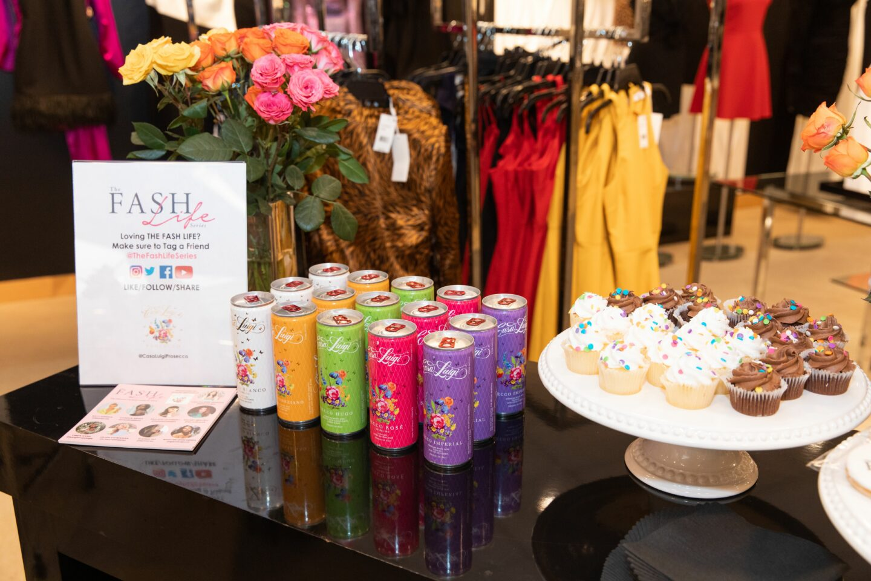 Casa Luigi Prosecco sponsors The Fash Life Series x Bloomingdale's Sneak Peek Party