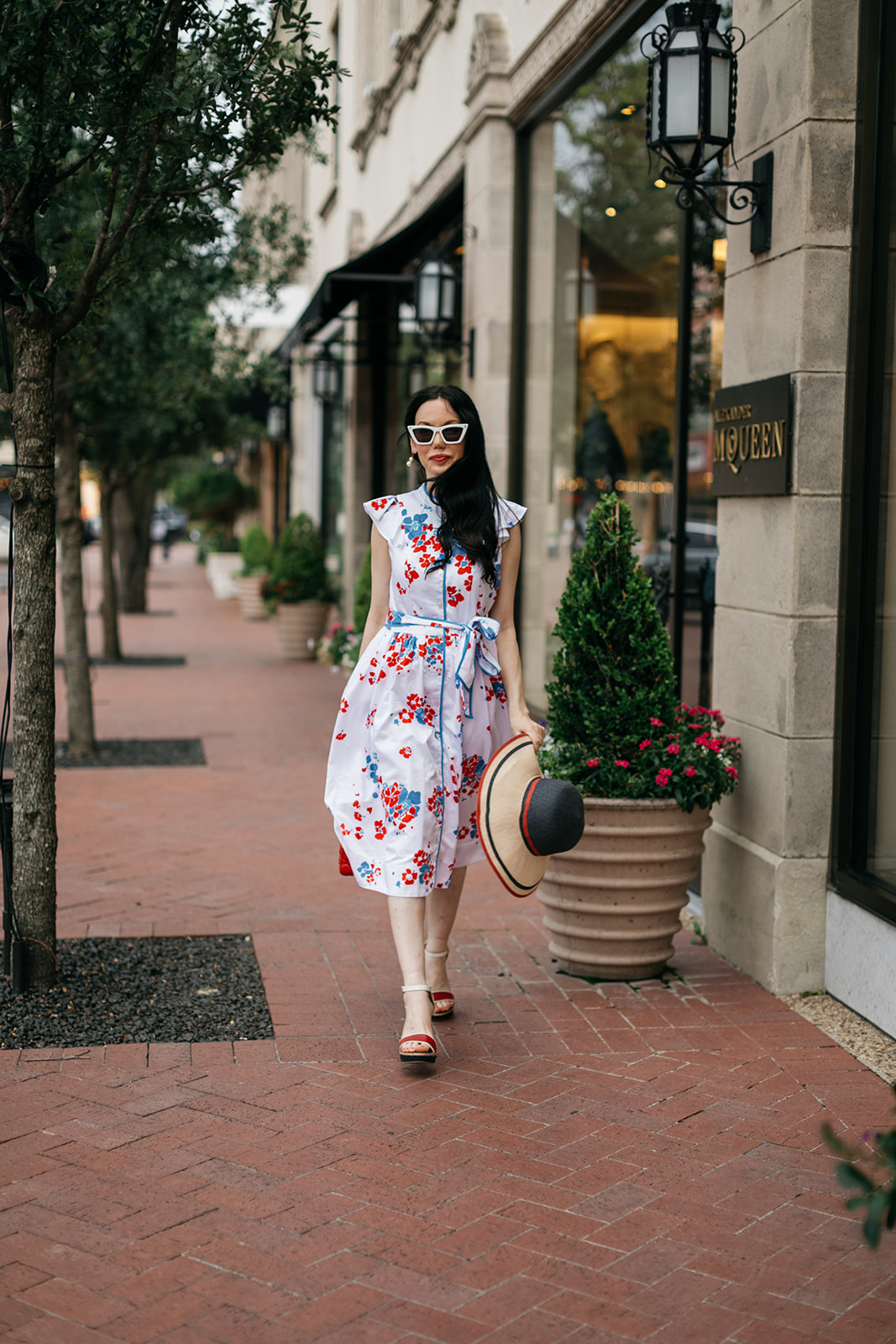 Brooks Brothers Shirt Dress + Happy 4th of July!