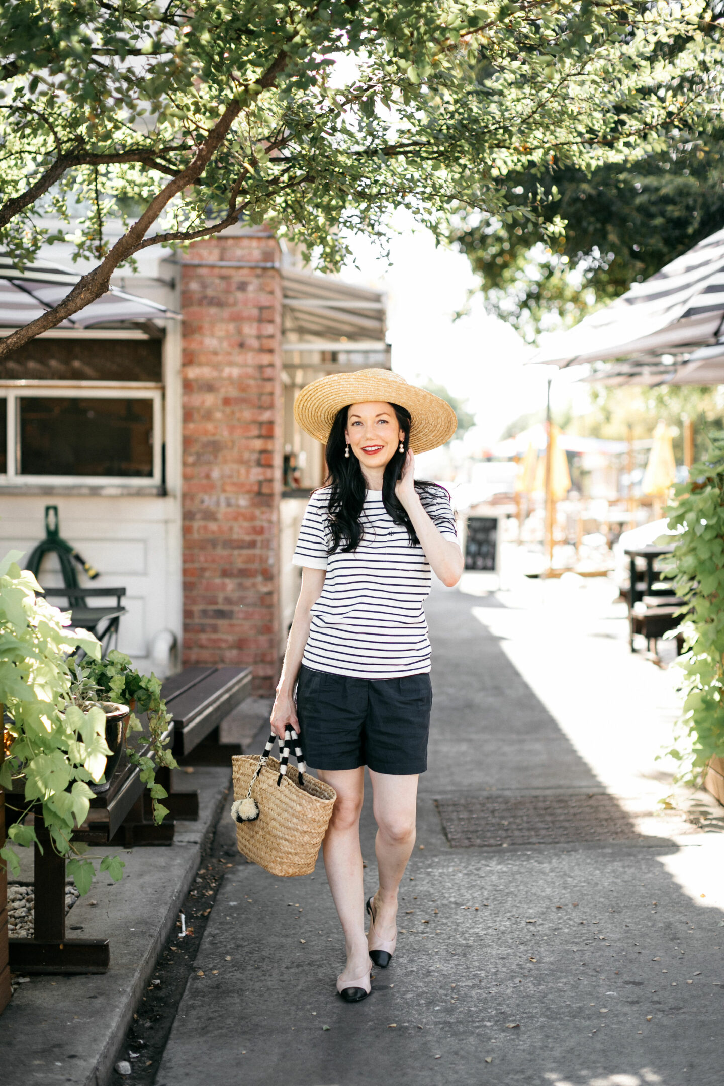 Kiel James Patrick Tee Shirt styled for Fall by top Dallas fashion blogger, Pretty Little Shoppers